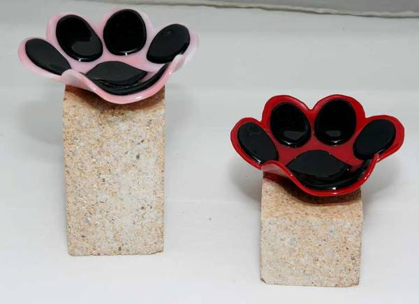 Paw Print Spoon Rests